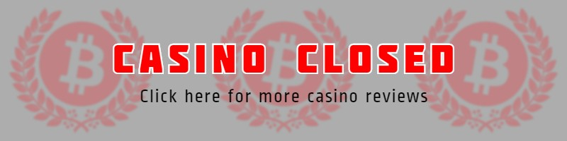 Casino Closed