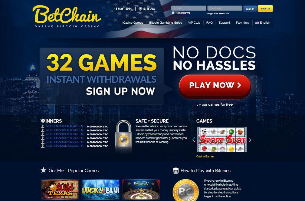 Betchain Casino1