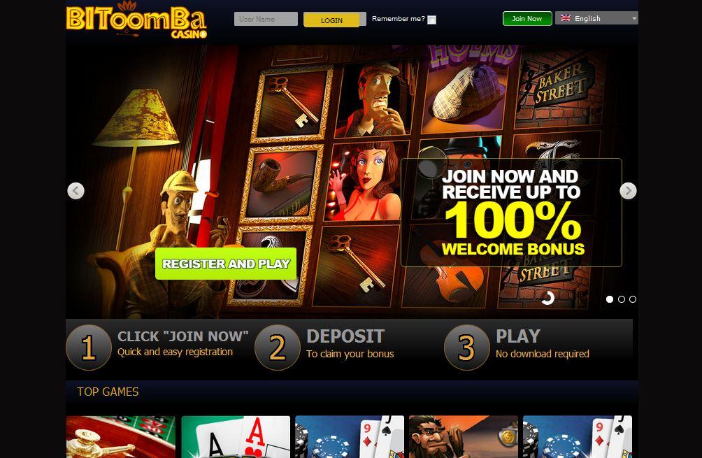 Bitoomba Casino1