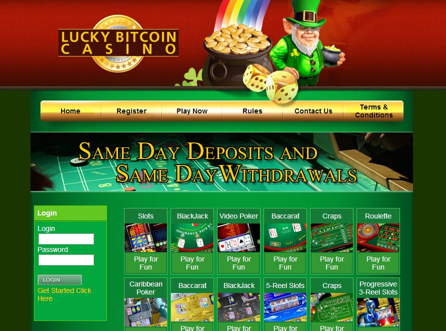 Lucky Bitcoin Casino1