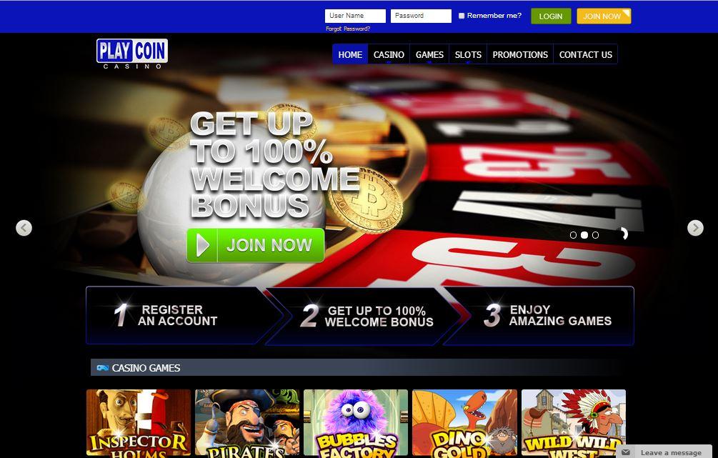 PlayCoin Casino1
