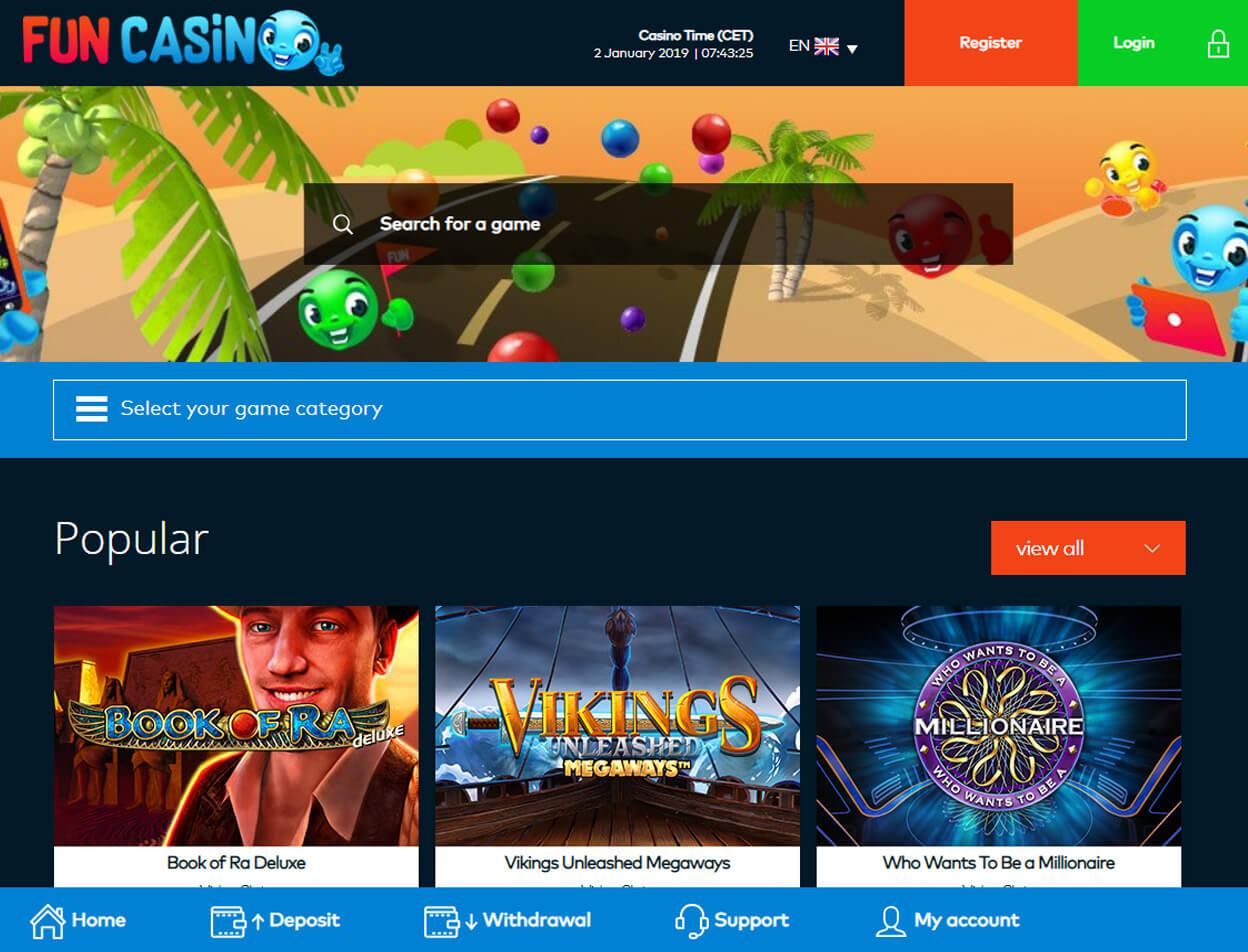 Fun Casino Screenshot 1