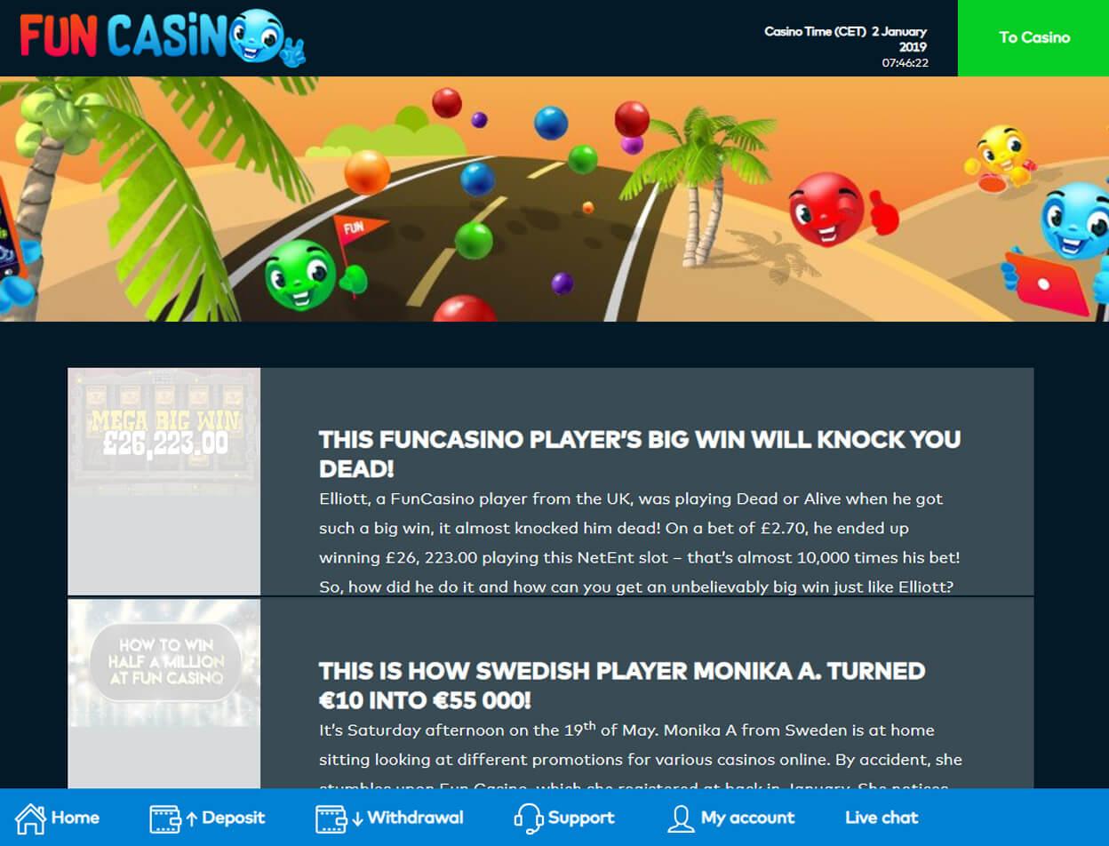Fun Casino Screenshot 2