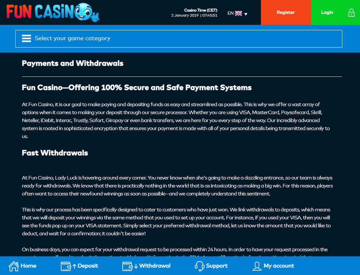 Fun Casino Screenshot 4