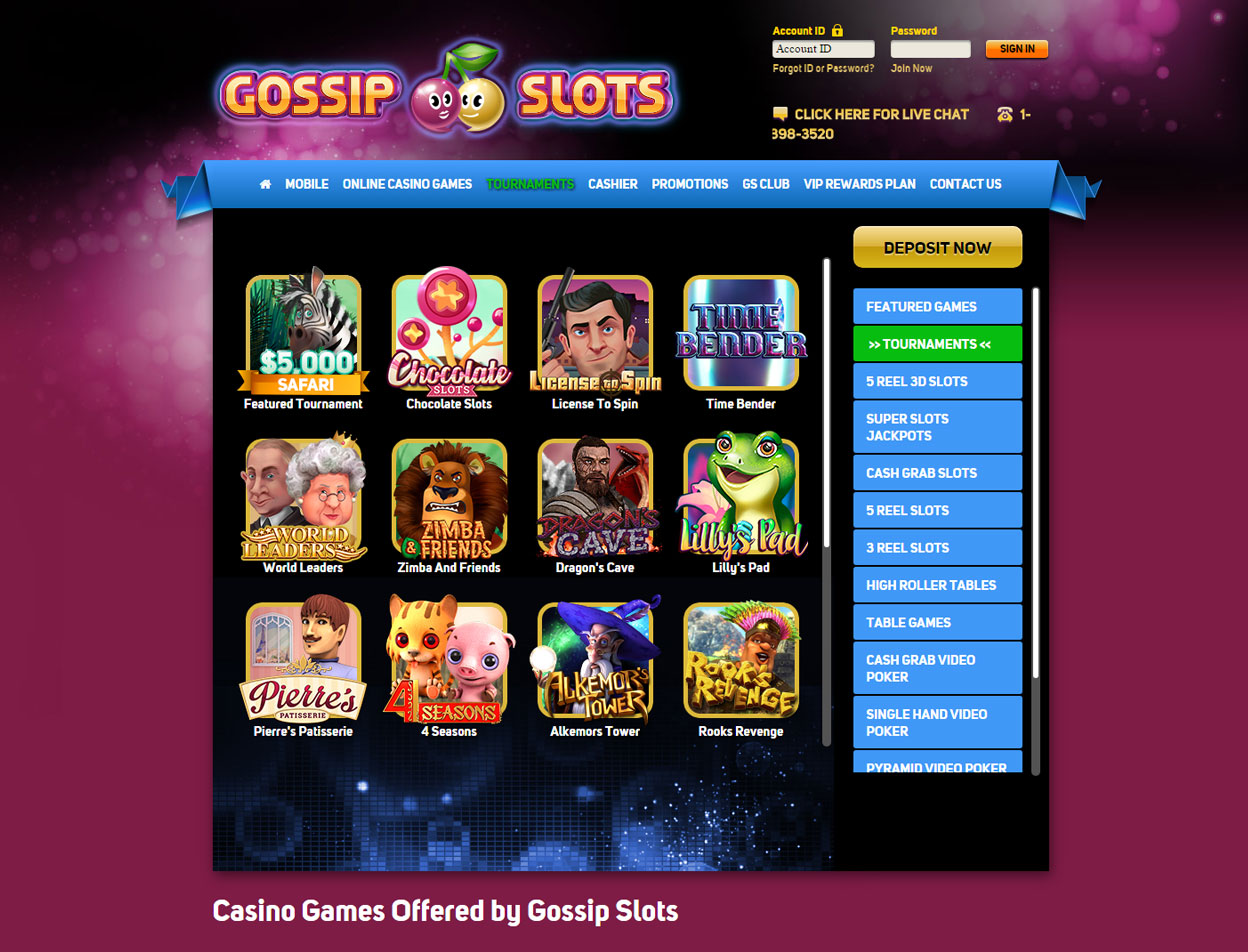 Gossip Slots