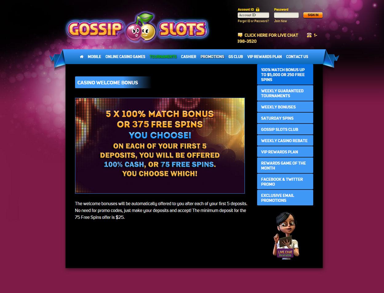Gossip Slots3
