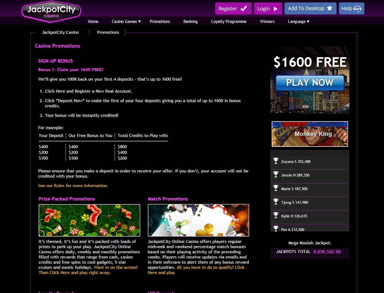 Jackpot City Casino3