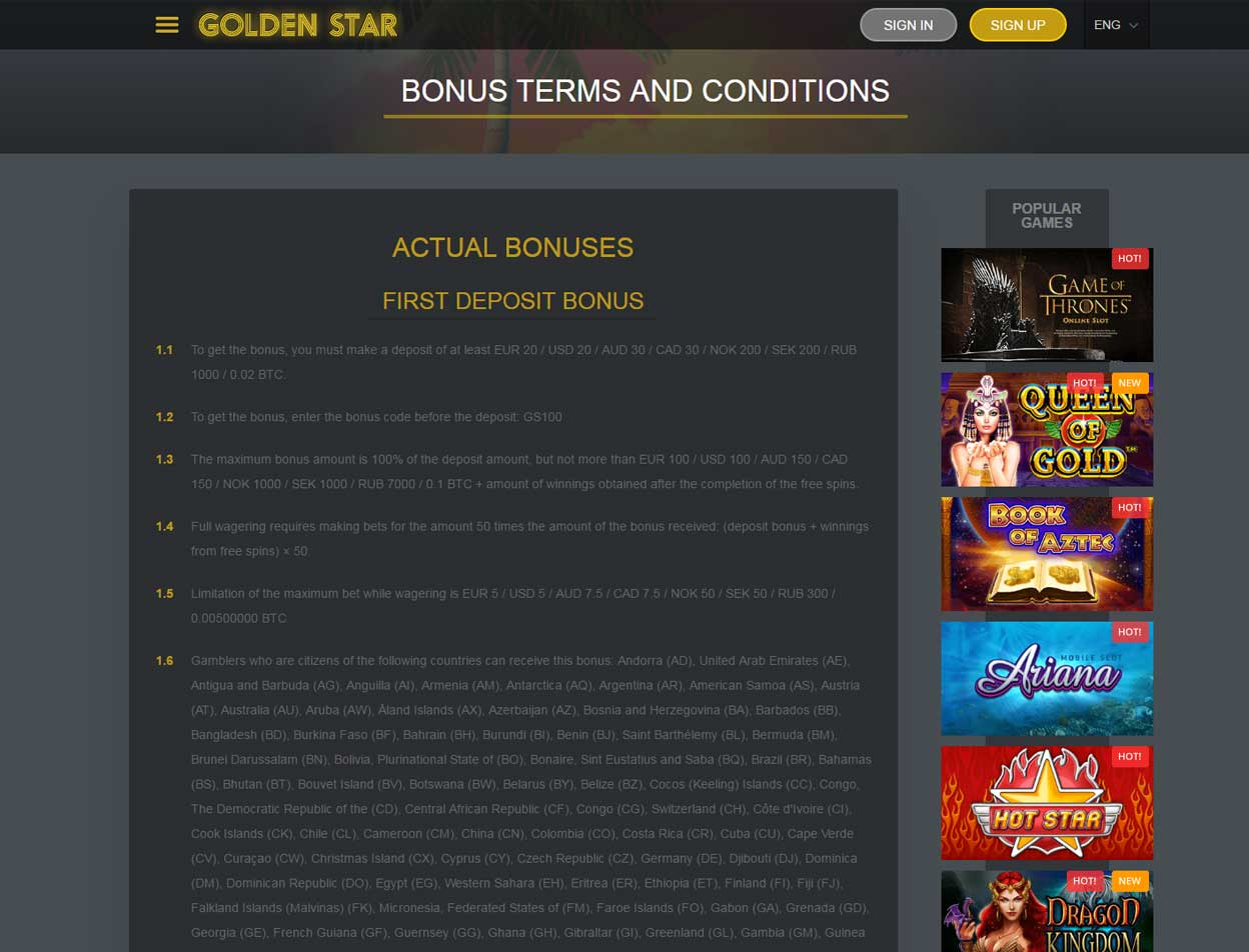 Golden Star Casino3