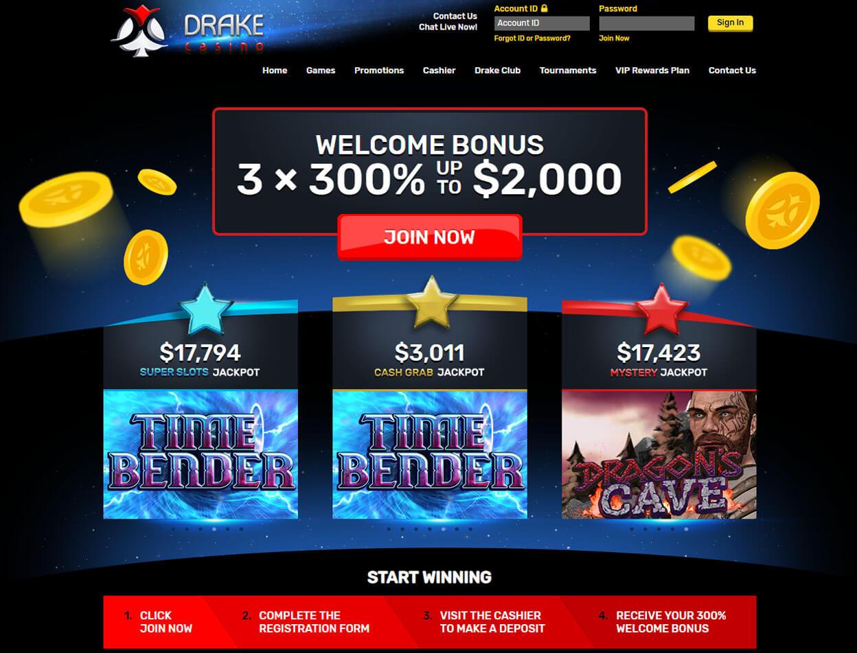Drake Casino Screenshot 1
