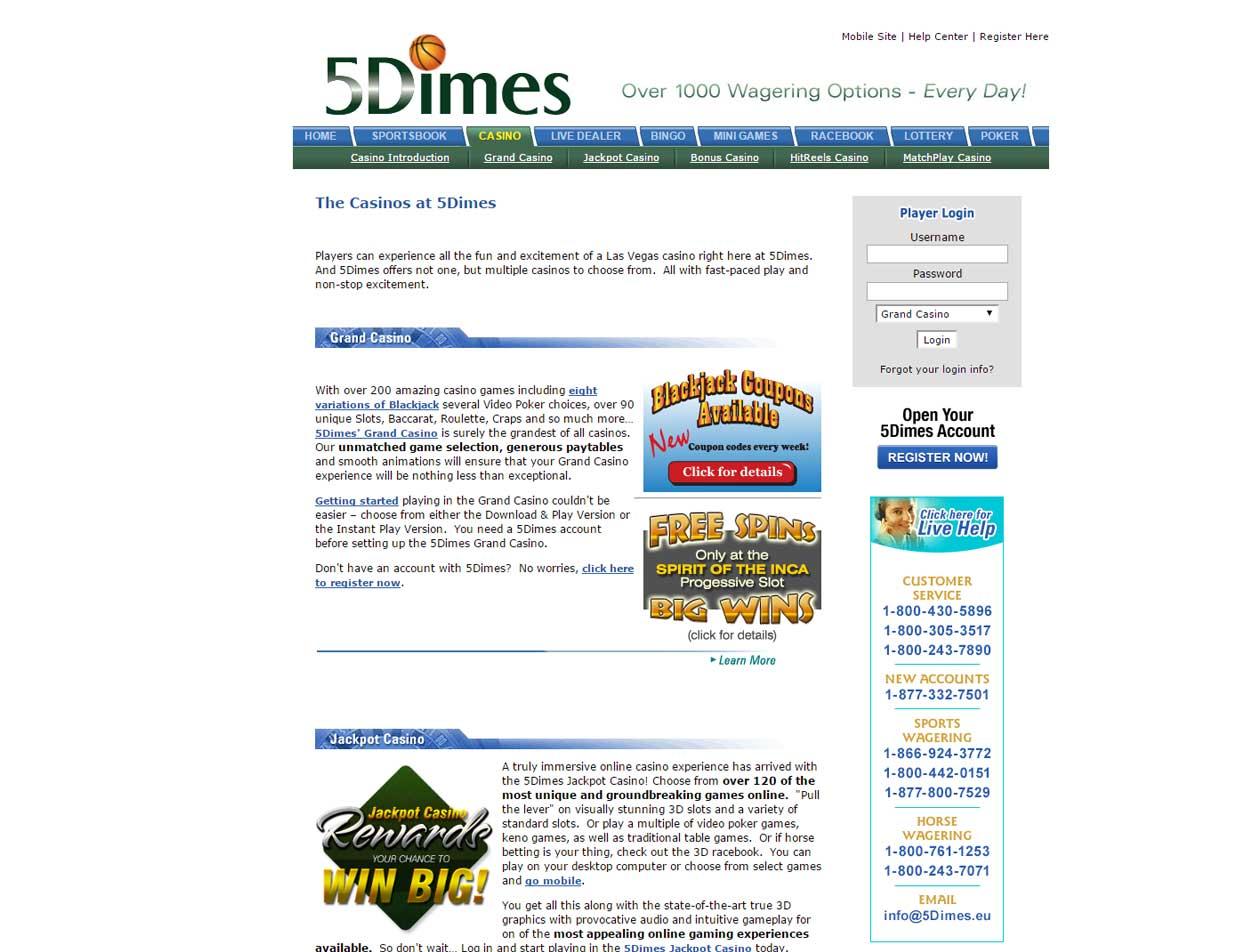 5Dimes Casino2