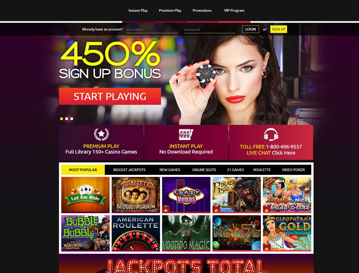 club player casino instant play