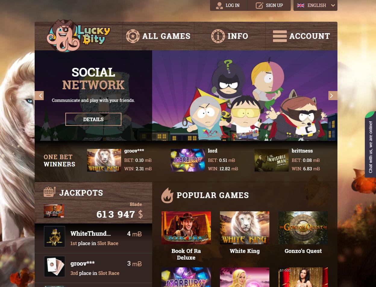 LuckyBity Casino1