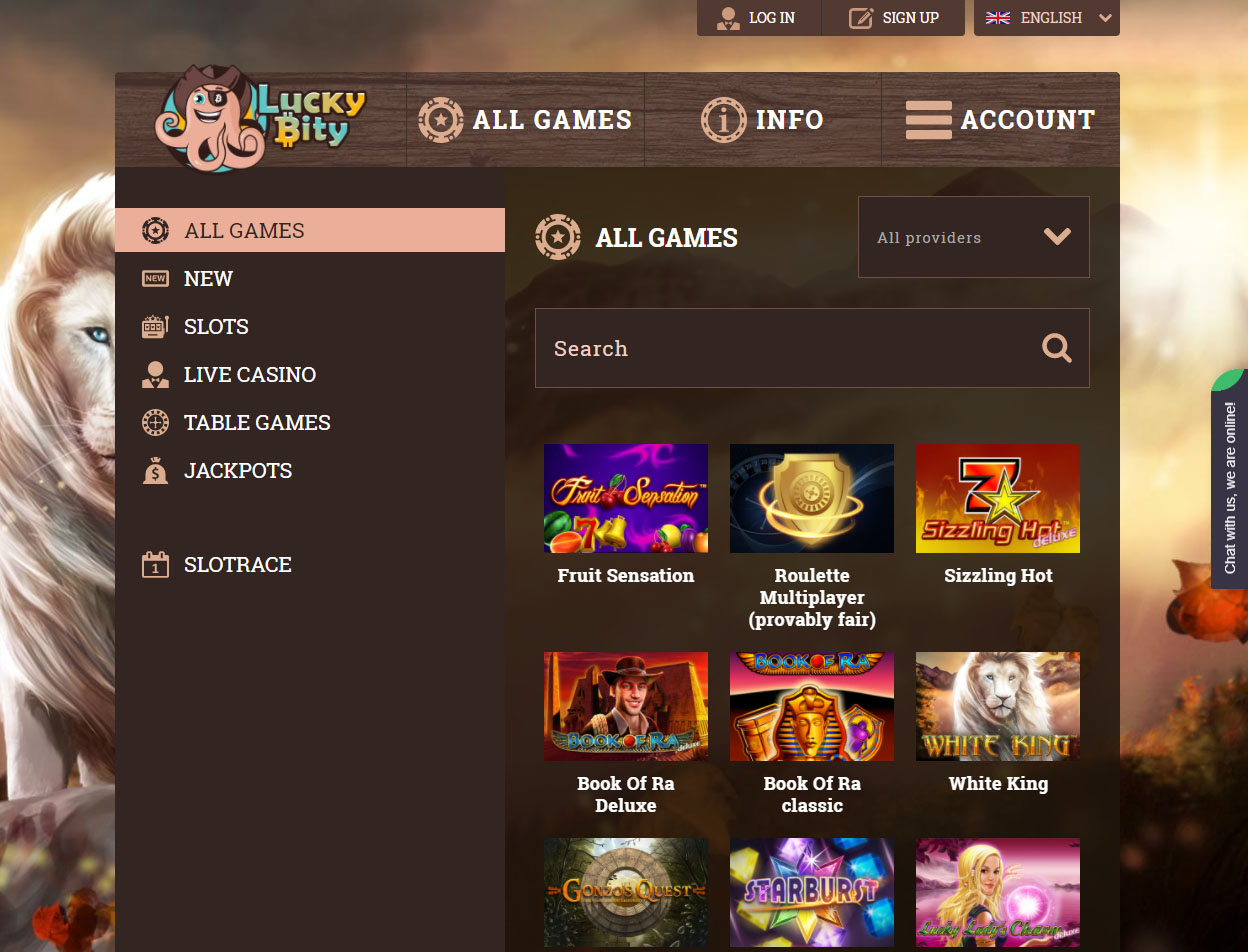 LuckyBity Casino4