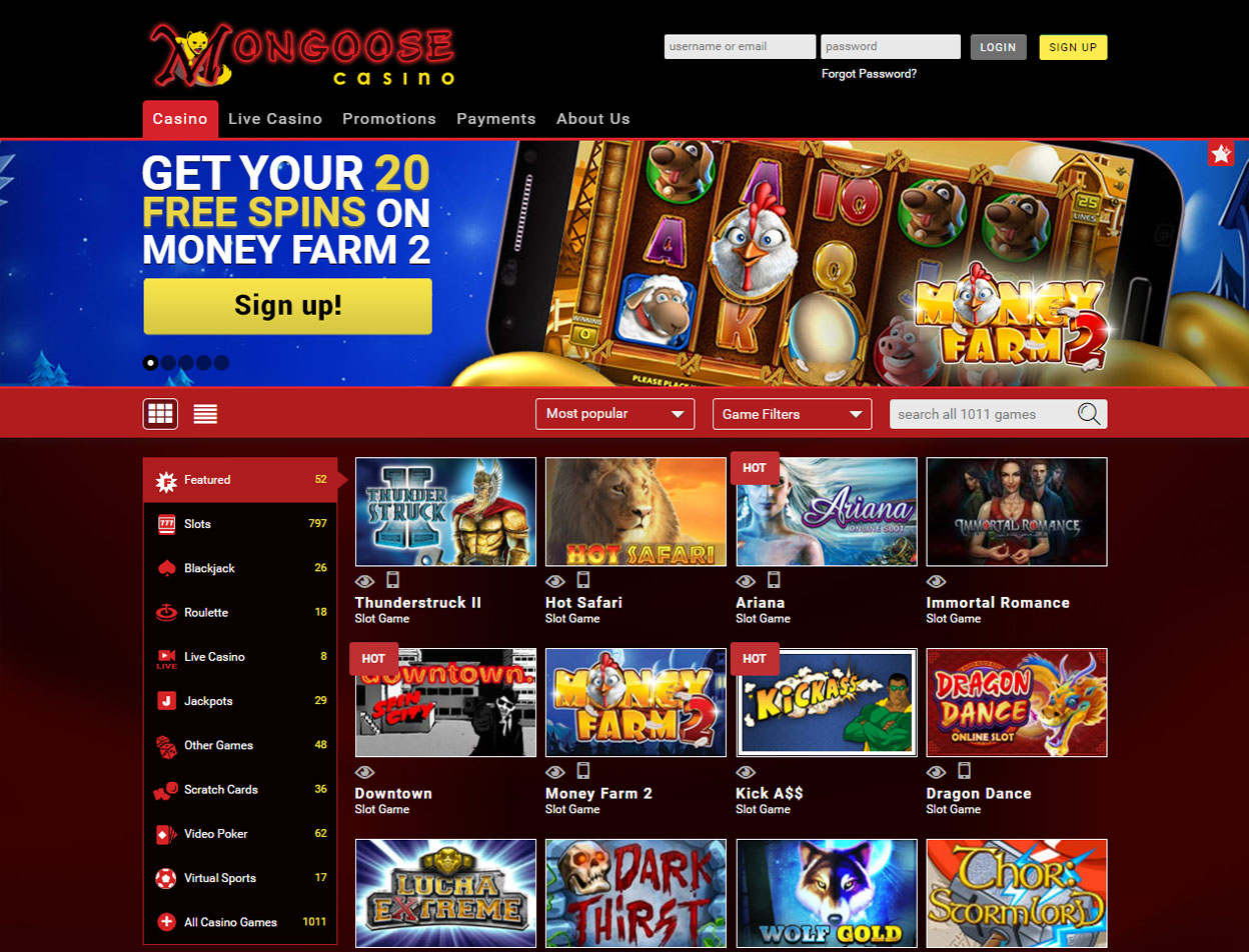 Mongoose Casino1