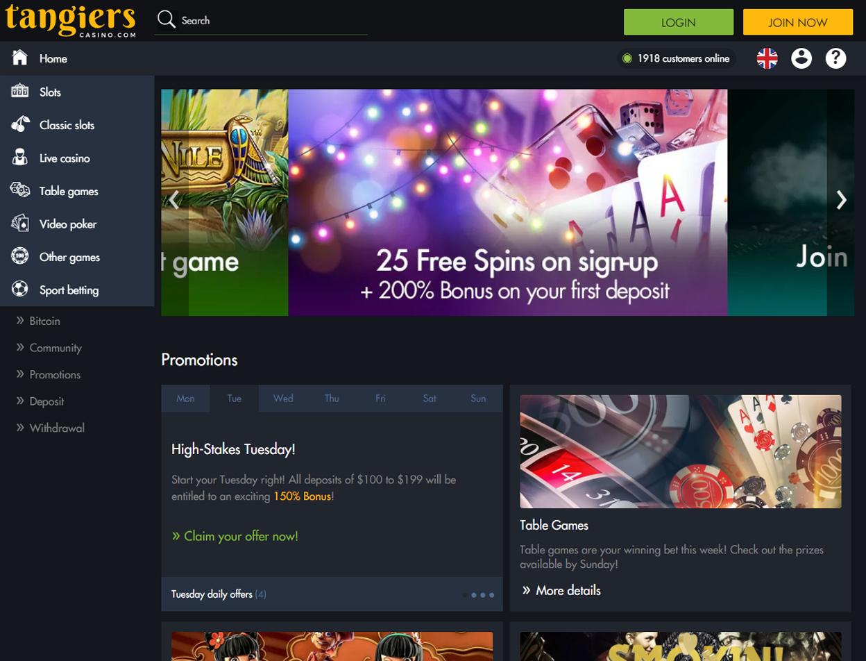 Tangiers Casino2