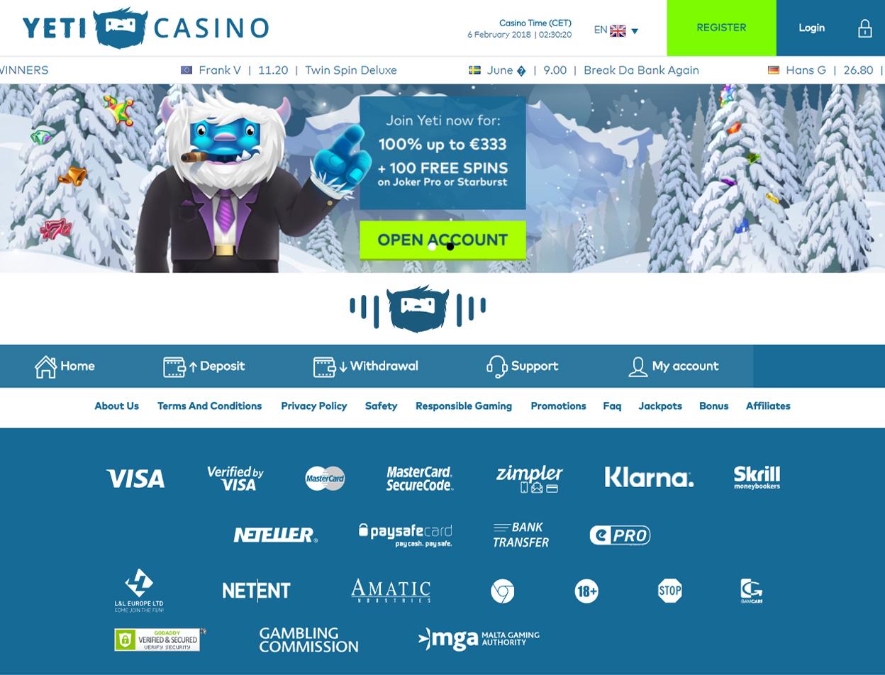 Yeti Casino1