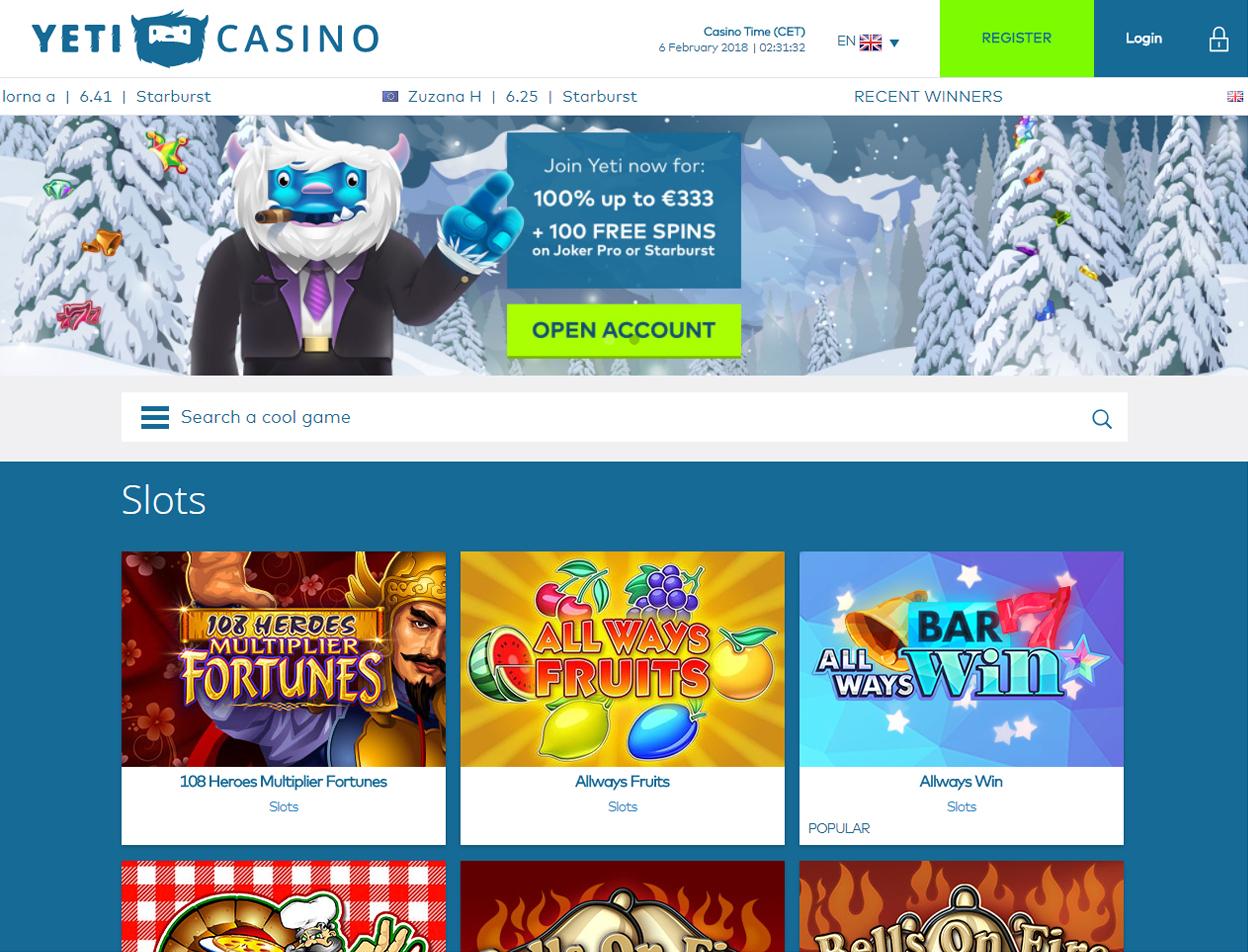 Yeti Casino2