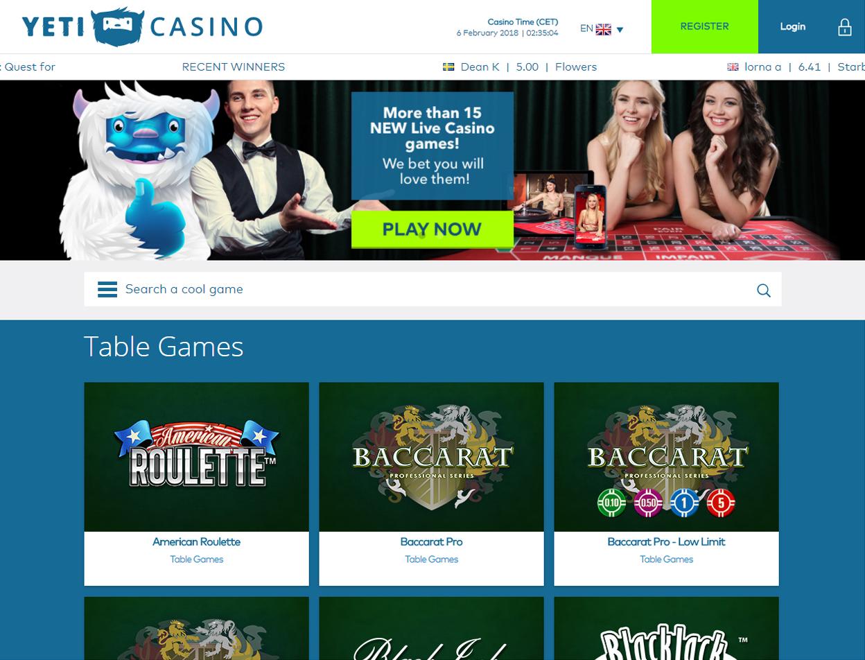 Yeti Casino4