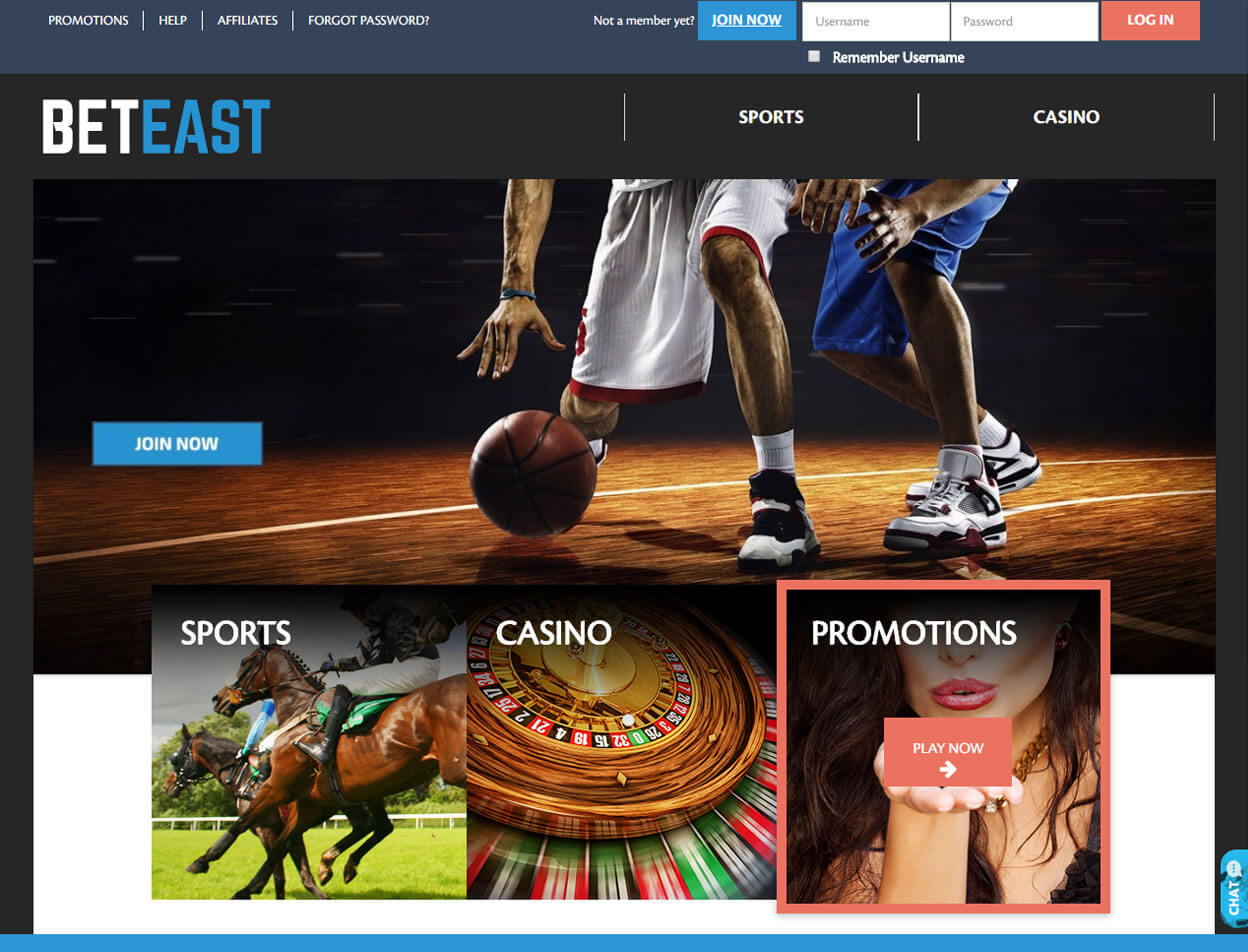 BetEast Casino Screenshot 4