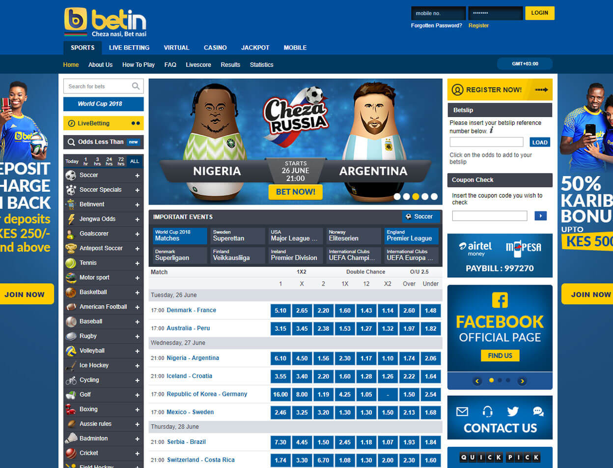Betin Casino Screenshot 2