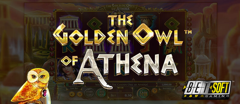 Betsoft Introduces The Golden Owl of Athena with Buyable Feature