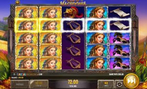 King of Macedonia Slot Base Game