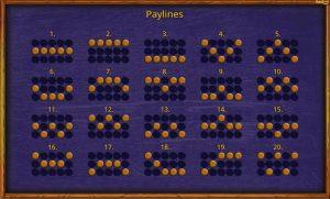 Lava Loca paylines