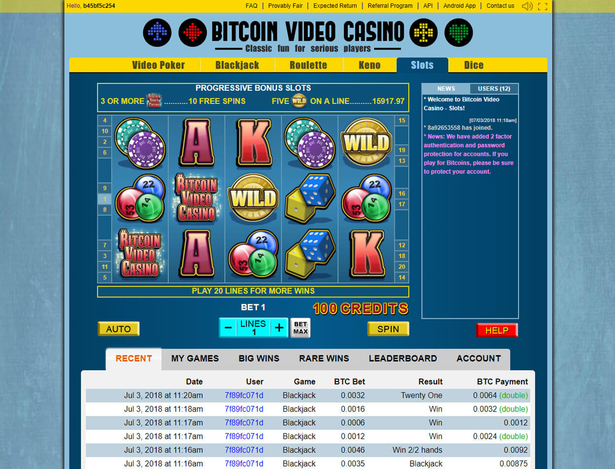 Bitcoin Video Casino2