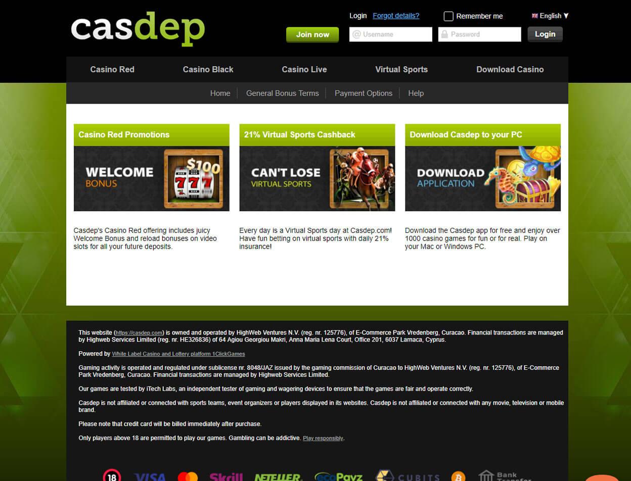 Casdep Casino Screenshot 4
