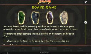 Jumanji Board Game feature