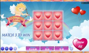 Mega Love Slot base game