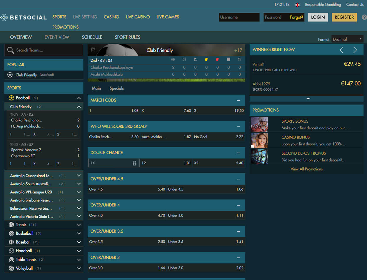 Betsocial Casino Screenshot 4