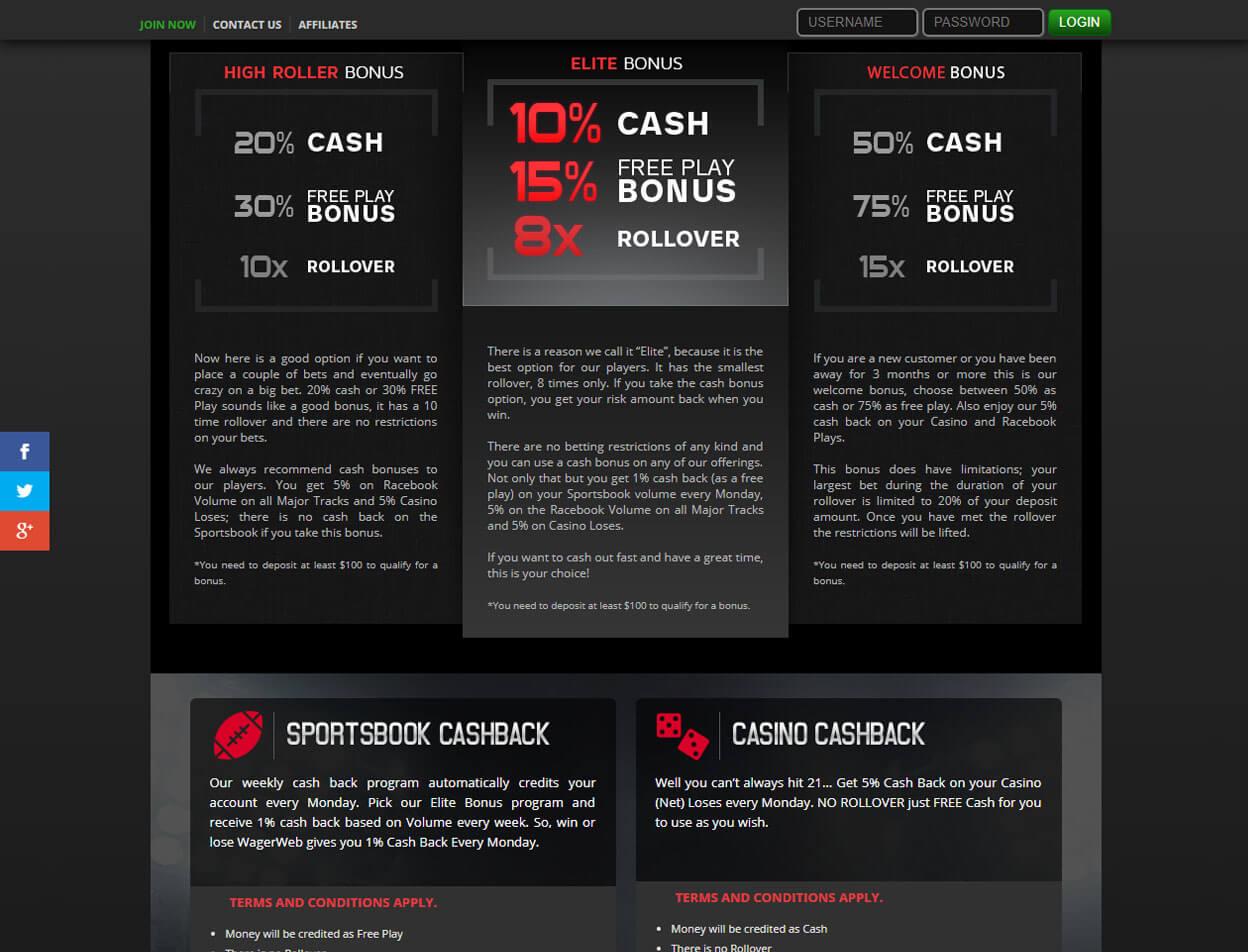 WagerWeb Casino3