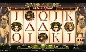 Divine Fortune Slot Base Game
