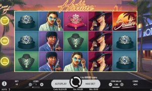 Hotline Slot Screenshot 2