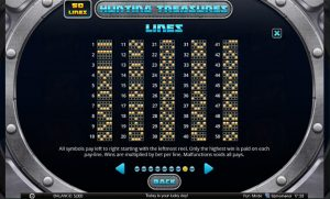 Hunting Treasures game feature