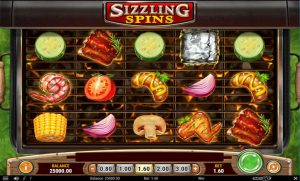 Sizzling Spins Screenshot 1