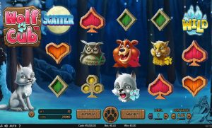 Wolf Cub Slot Base Game