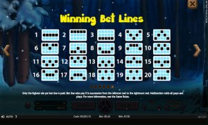 Wold Cub Slot Bet Lines