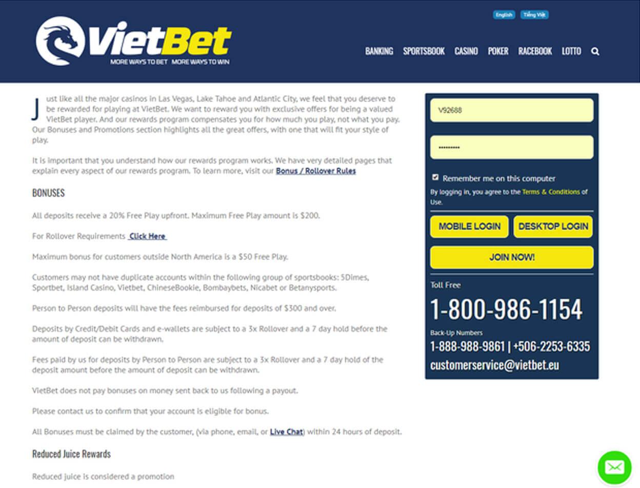 VietBet Casino2