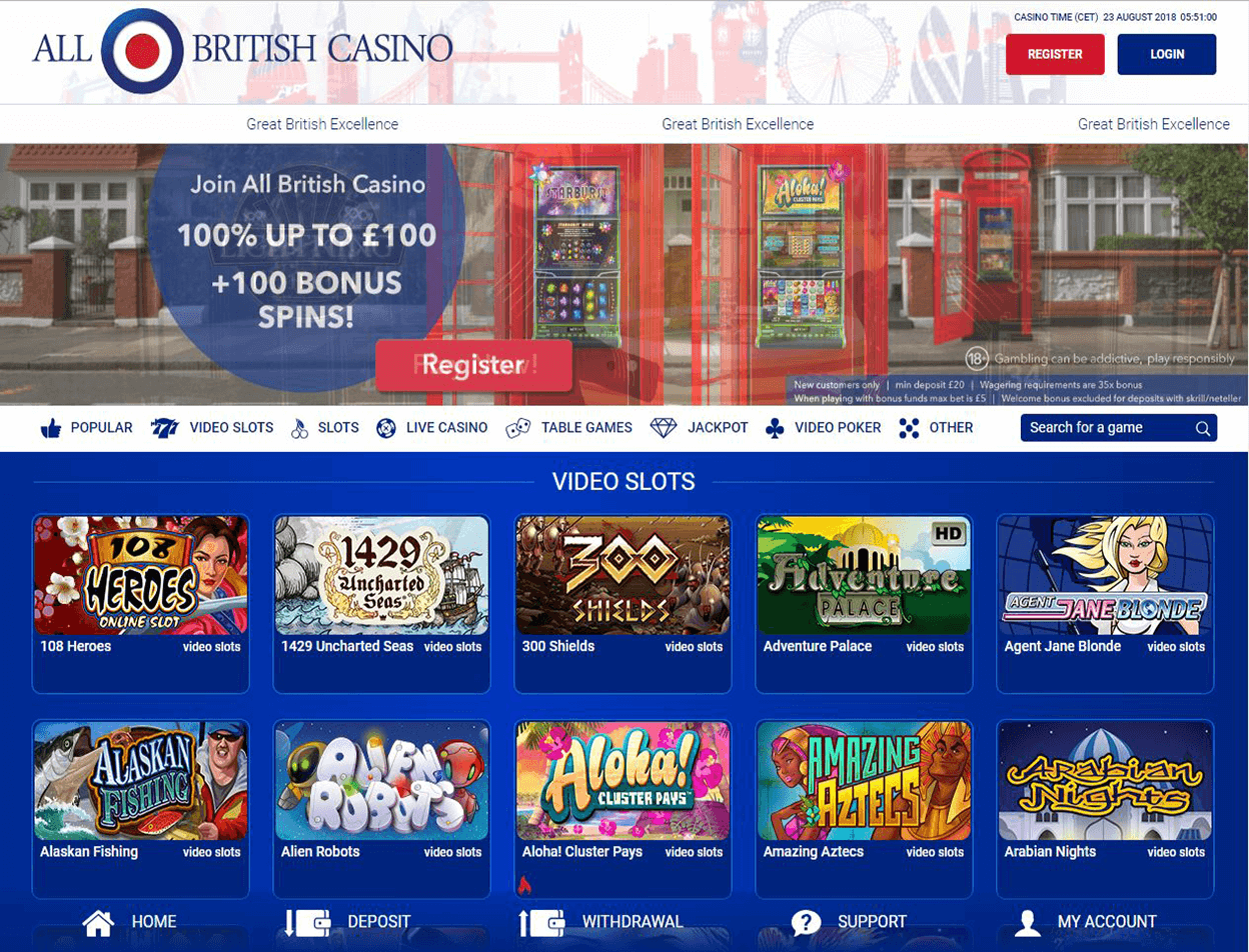 All British Casino Screenshot 3