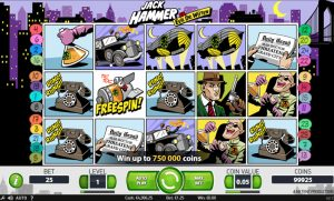 Jack Hammer slot Screenshot 1