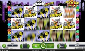 Jack Hammer slot Screenshot 3