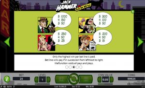 Jack Hammer slot Screenshot 2