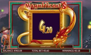 Magnificent 8 slot bonus