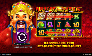 Master Chen's Fortune Two-Way Pay System