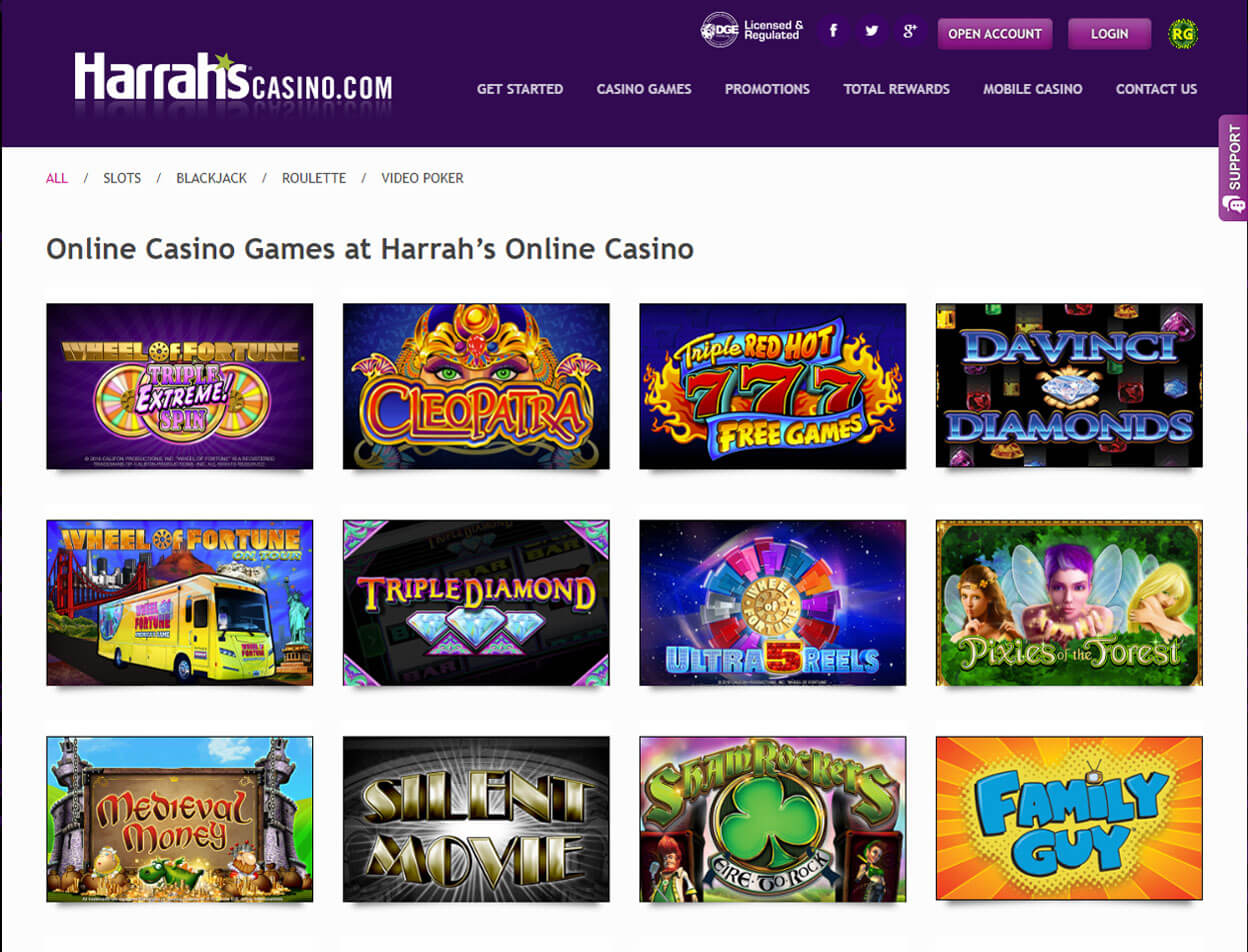 Harrah's Casino Screenshot 3