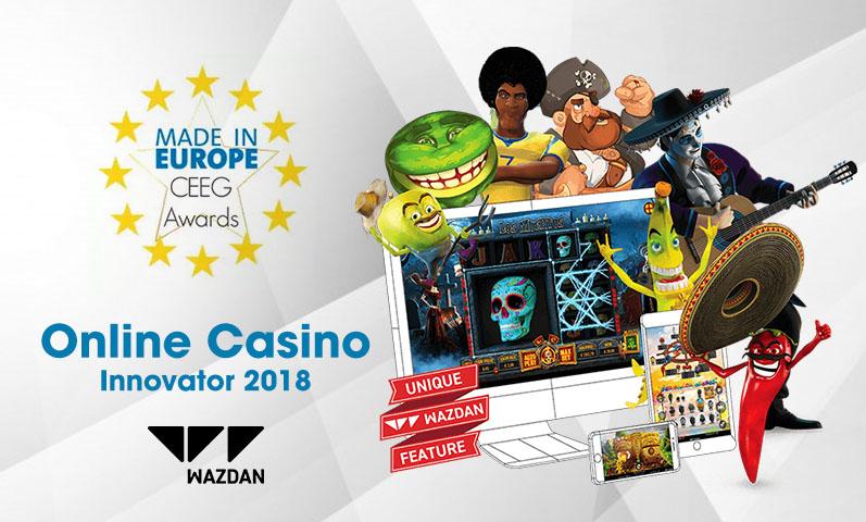 Wazdan Beats NetEnt, 3 Other Providers for Best Online Casino Innovator 2018 Award