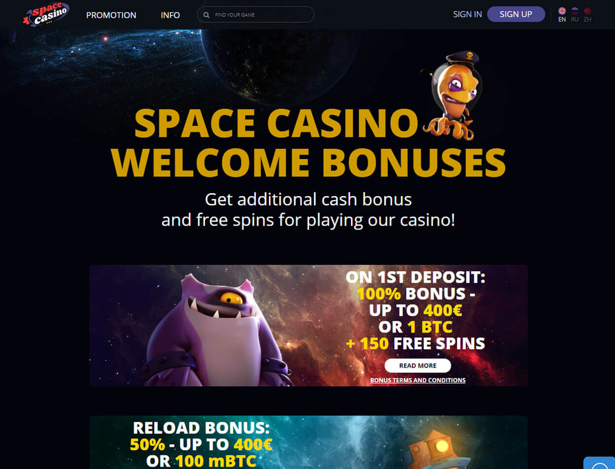 Space Casino Screenshot 2