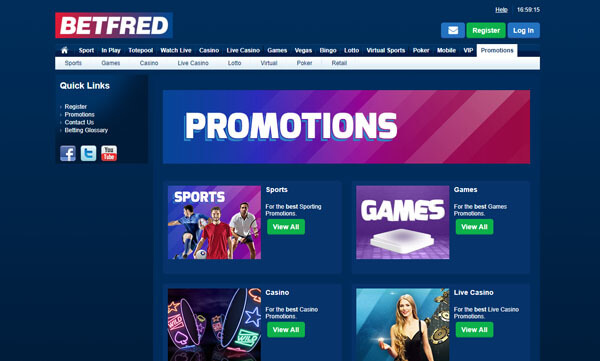 Betfred Screenshot 2